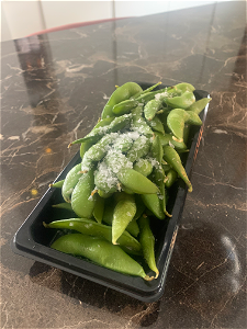 Foto Salted Edamame Soybeans
